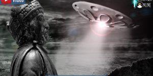 Sigiburg bei Dortmund 775 n. Chr. : Die UFO-Sichtung von Karl dem Großem (Bilder: gemeinfrei / Montage: Fischinger-Online)