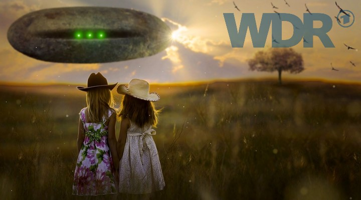 Aliens UFOs und Leben im All: Als Thema für Kinder beim öffentlich-rechtlichen Radiosender WDR (Bilder: gemeinfrei / Fischinger-Online)
