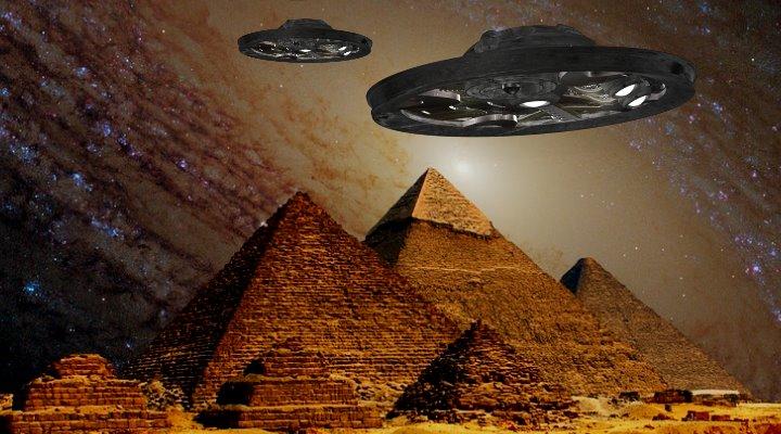 """Die TV-Serie """"Ancient Aliens"""" und die Prä-Astronautik in der Kritik des ORF (Bilder: gemeinfrei / Montage: Fischinger-Online)"""