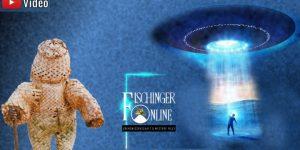 Astronautengötter/Ancient Aliens - heute - gestern - vorgestern: Vortrag von Lars A. Fischinger (Bilder: Archiv E. v. Däniken / Montage: Fischinger-Online)