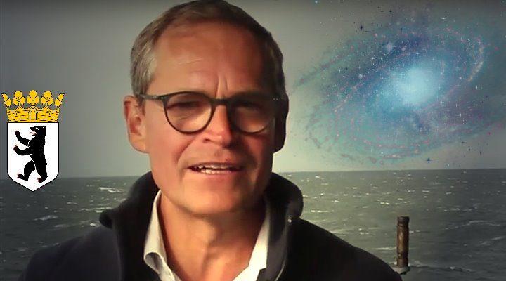 Berlins regierender Bürgermeister Michael Müller glaubt an Aliens