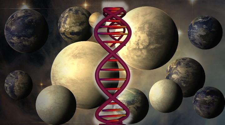 """""""Vielleicht gibt es längstens Spuren von außerirdischem Leben im All"""" - nur sehen wir sie nicht (Bilder: NASA & gemeinfrei / Montage: Fischinger-Online)"""