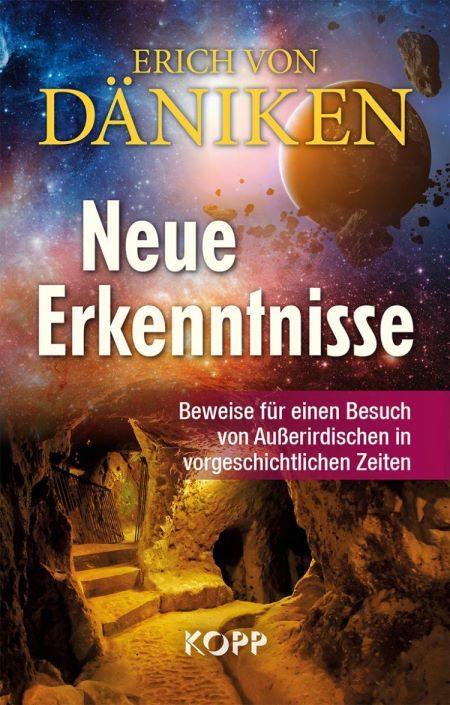 """Cover Erich von Däniken: """"Neue Erkenntnisse"""""""