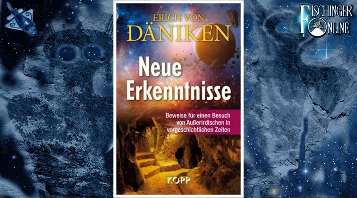 """Erich von Däniken """"Neue Erkenntnisse: Beweise für einen Besuch von Außerirdischen in vorgeschichtlichen Zeiten""""(Bilder: LAF / KOPP-Verlag / NASA / Montage: Fischinger-Online)"""