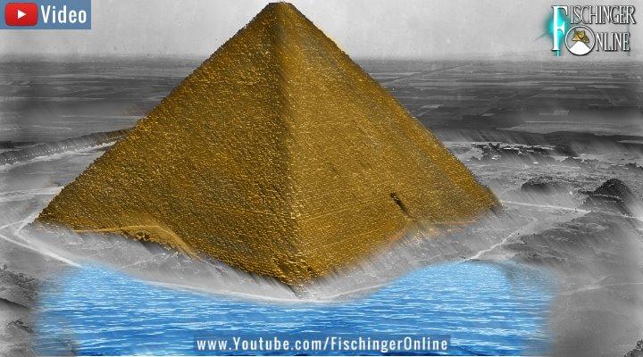 """VIDEO: Der mysteriöse """"See unter der Cheops-Pyramide"""": Von Fakten, Märchen und Schwindeleien (Bild & Montage: Fischinger-Online)"""