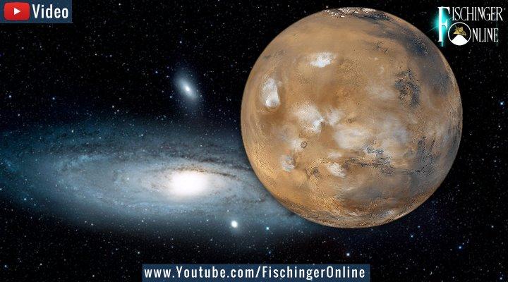 Sensation nach 100 Millionen Jahren auf dem Mars fotografiert? (Bilder: NASA/gemeinfrei / Montage: Fischinger-Online)