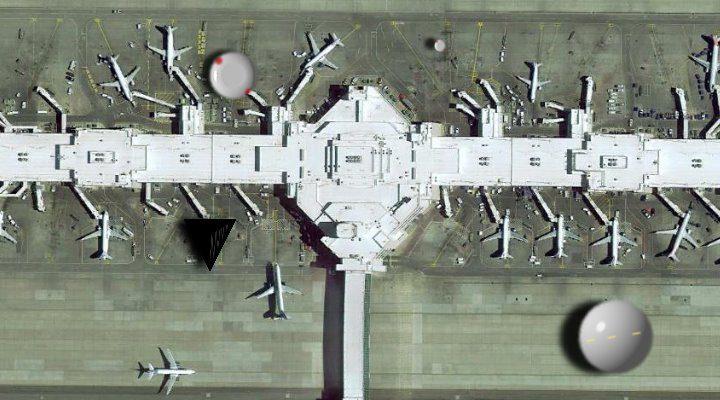 Der internationale Flughafen von Denver: ein Tummelplatz für Aliens UFOs und Geheimgesellschaften? Der Flughafen nimmt die Verschwörungstheorien jetzt mit Humor …