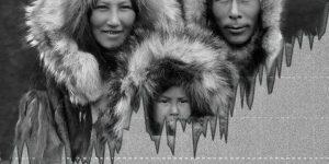 Ältestenräte der Inuit: Es gibt keine Klimaerwärmung - die Erdachse ist gekippt! (Bild: gemeinfrei / Montage: Fischinger-Online)