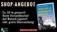 """MEIN TOP ANGEBOT für Euch: Lars A. Fischinger: """"Rebellion der Astronautenwächter"""" inkl. gratis Überraschungen & Versand!"""