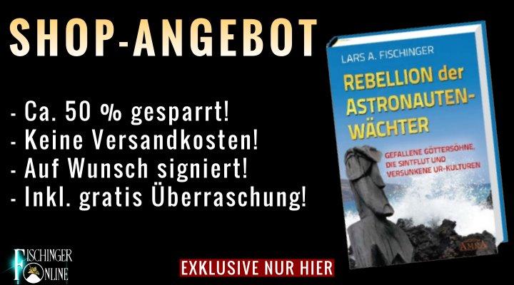 """ANGEBOT für Euch: Lars A. Fischinger: """"Rebellion der Astronautenwächter"""" inkl. gratis Überraschungen & Versand!"""