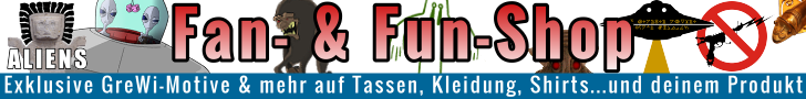 Der Fan- und Fun-Shop von Fischinger-Online: Shirts & Kleidung, Tassen & mehr mit exklusiven Motiven zu UFOs, Grenzwissenschaft, Mystery, Aliens und mehr!Der Fan- und Fun-Shop von Fischinger-Online: Shirts & Kleidung, Tassen & mehr mit exklusiven Motiven zu UFOs, Grenzwissenschaft, Mystery, Aliens und mehr!