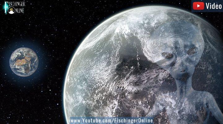 DARUM sind noch keine Aliens hier: Sie kommen nicht von ihren schweren Planeten runter, sagt eine Studie (Bilder: gemeinfrei / Montage/Bearbeitung: Fischinger-Online)
