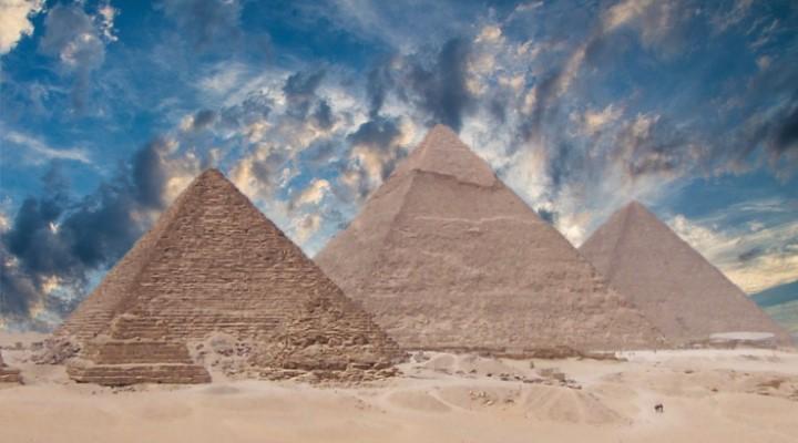 Wissenschaftler lösen mal wieder (fast) das Rätsel des Pyramiden-Bau in Ägypten