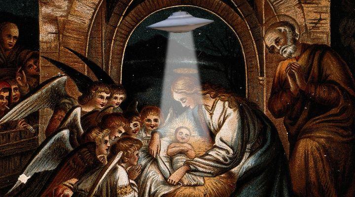 """Der Stern von Bethlehem: ein UFO? Falscher Spott und wirre """"Kritik"""" im Mainstream (Bild: gemeinfrei / Bearbeitung: Fischinger-Online)"""