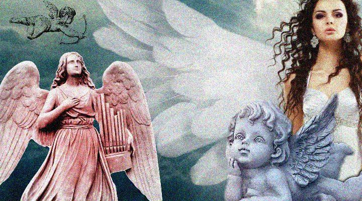 Engel – In Wahrheit waren sie alles andere als Engel. Im Gegenteil! (Bilder: gemeinfrei / Montage: Fischinger-Online)
