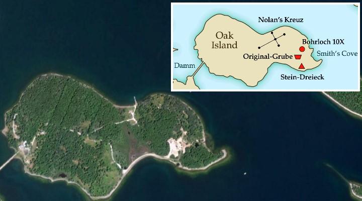 Das Geheimnis von Oak Island: Neue Fundstücke online gestellt
