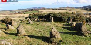 Panne in der Archäologie: Ein angeblich 3.000 Jahre alter Steinkreis in Schottland ist nur rund 25 Jahren alt (Bild: Twitter/Aberdeenshire)