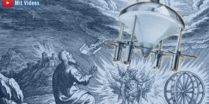 """Die """"Raumschiff-Vision"""" des Ezechiel: Hat der biblische Prophet abgeschrieben? (Bilder: gemeinfrei & Archiv E. v. Däniken / Bearbeitung/Montage: Fischinger-Online)"""