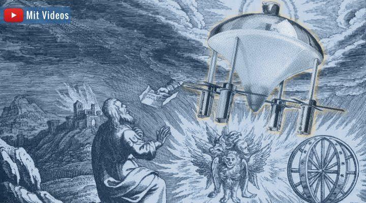 """VIDEO & ARTIKEL: Die """"Raumschiff-Vision"""" des Ezechiel: Hat der biblische Prophet abgeschrieben?"""