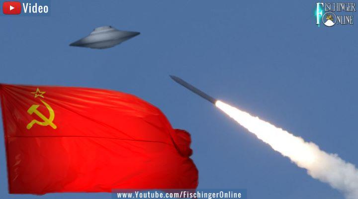 Eine offizielle UFO-Akte der CIA sagt: Die Armee der UdSSR hat ein UFO samt Aliens abgeschossen (Bilder: gemeinfrei / Montage:/Bearbeitung: Fischinger-Online)