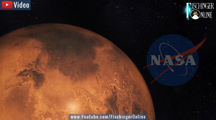 Seltsames Foto vom Mars: Hat die NASA Hinweise für früheres Leben auf dem Mars übersehen? (Bilder: NASA)