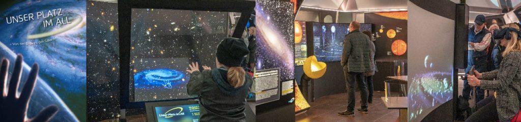 Von der Erde zu den Galaxien im Galileo-Park Lennestadt (Bilder: Galileo-Park)