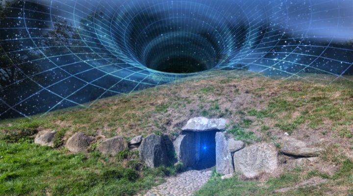 ne UFO-Entführung und Zeitreise mit dem Volk der Zwerge ... (Bilder: L. A. Fischinger & gemeinfrei / Montage: Fischinger-Online)