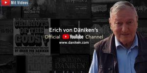 Erich von Däniken goes YouTube: EvD geht mit einem offiziellen YouTube-Kanal online (Bilder: E. V. Däniken / Montage: Fischinger-Online)