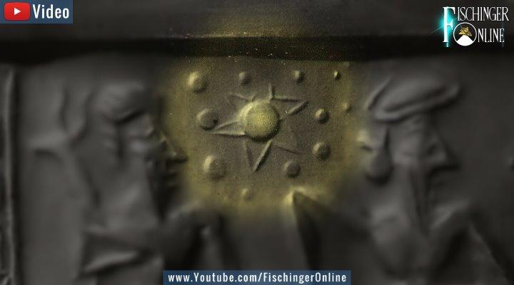 """VIDEO: Das """"Sumerische Rollsiegel mit Nibiru"""" und Mythen & Darstellungen der Prä-Astronautik: 10 Jahre vor Zecharia Sitchin und Erich von Däniken bereits Thema (Bild: Fischinger-Online/Archiv)"""