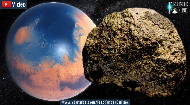 Leben auf dem Mars? Wissenschaftler finden mutmaßliche Bakterien in Mars-Meteorit (Bilder: NASA/JPL / gemeinfrei / Montage: Fischinger-Online)
