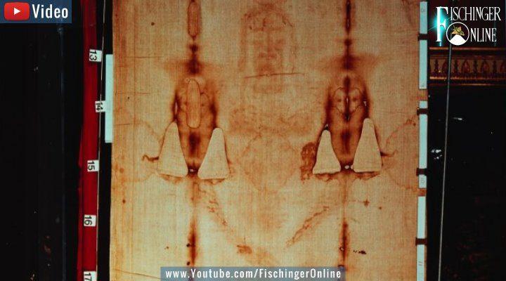 VIDEO: Das Turiner Grabtuch: Wissenschaftliches Bild-Archiv des Leichentuch Jesus online gestellt!