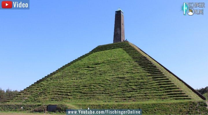 VIDEO: Die Pyramide von Austerlitz in den Niederlanden - Ägyptisches in Holland (Bild: Fischinger-Online)