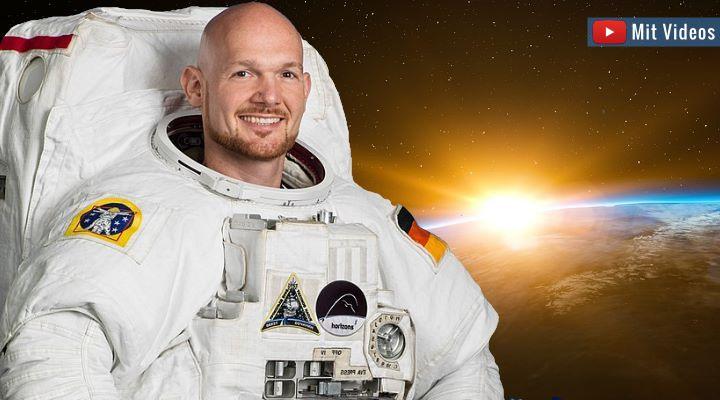 """Alexander Gerst: """"Wir haben keinen Planeten b"""" - """"Astro-Alex"""" über Raumfahrt und die Rettung der Erde"""