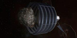 Bergbau im All: Die USA und Luxemburg wollen gemeinsam Rohstoffe im All ausbeuten (Bild: NASA)