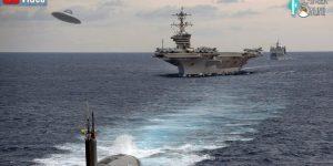 VIDEO: Die US-Navy will UFOs genauer untersuchen - aber die Ergebnisse geheim halten (Bild: PixaBay/gemeinfrei / Montage: Fischinger-Online)