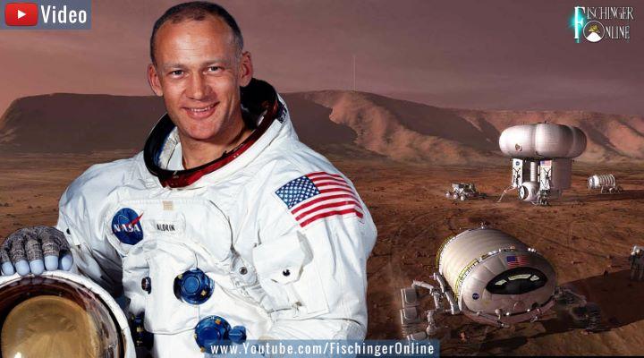 VIDEO: Apollo 11-Astronaut Buzz Aldrin fordert von Trump und den USA den Mars zu kolonisieren! (Bilder: NASA/gemeinfrei / Montage: Fischinger-Online)