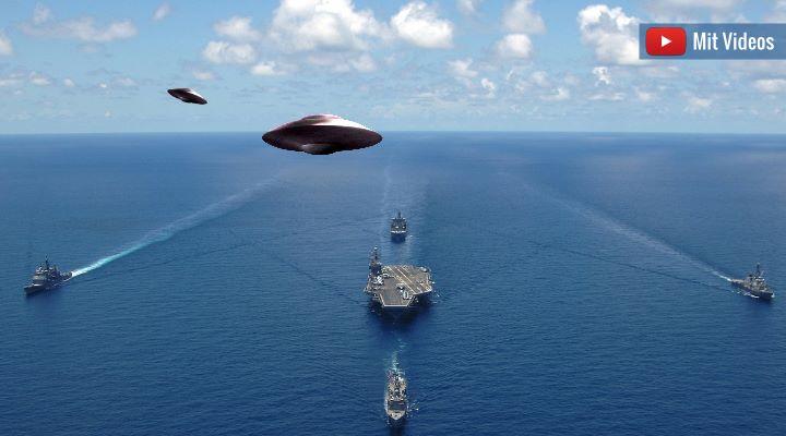 UFOs und das US-Militär - Deutsche Mainstreammedien können alles erklären (oder auch nicht) (Bild: gemeinfrei / Montage: Fischinger-Online)