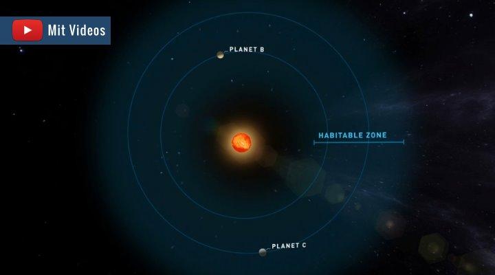 """Forscher entdeckten gleich zwei """"neue Erden"""" in unserer direkten Nachbarschaft"""