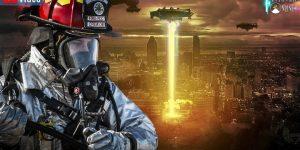 VIDEO: Die US-Feuerwehr und die Bedrohung durch UFOs - was ist zu tun? (Bilder: PixaBay/gemeinfrei / Montage: Fischinger-Online)