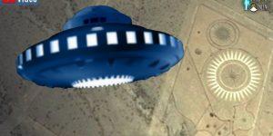 VIDEO: Neues vom UFO-Landeplatz in Argentinien (Bilder: Google Earth / PixaBay/gemeinfrei / Montage: Fischinger-Online)