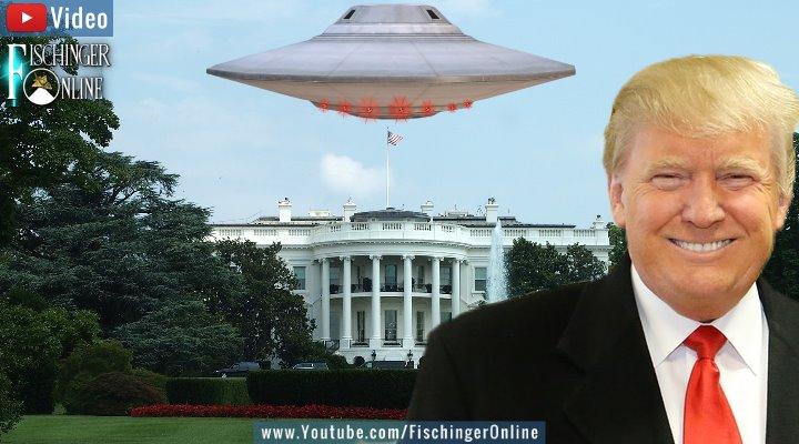 VIDEO: Abgestürzte UFOs im Besitz der USA? Donald Trump weiß von nichts! (Bilder: PixaBay/gemeinfrei / Montage: Fischinger-Online)