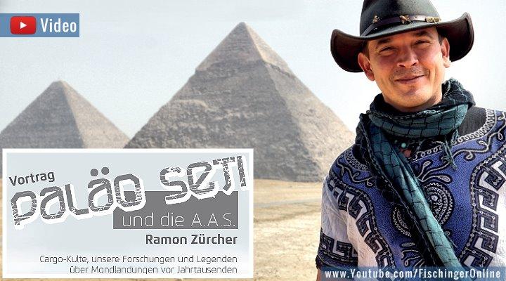 VIDEO: Ancient Aliens und die Erich von Däniken-Forschung - Vortrag von Ramon Zürcher 2019 (Bild: R. Zücher / E. v. Däniken)