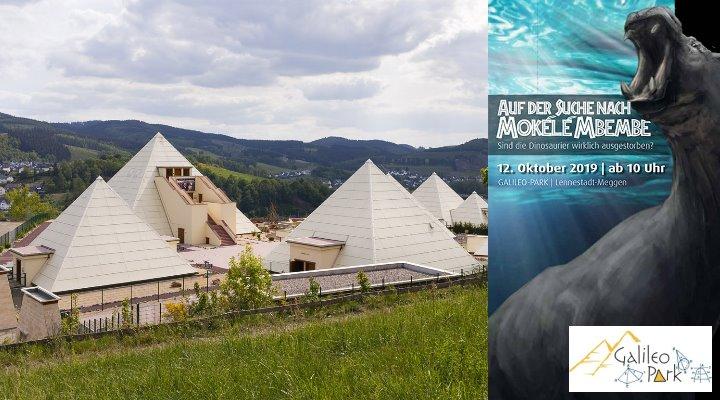 """""""Auf der Suche nach Mokele Mbembe"""": Kongress für Kryptozoologie im Oktober 2019 (Bilder: Galileo-Park)"""