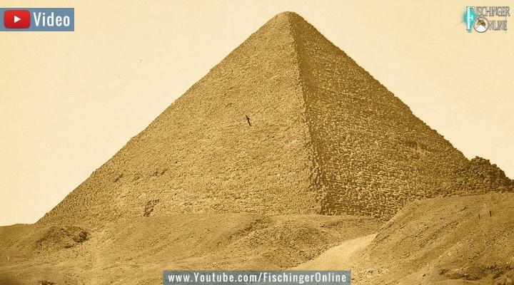 VIDEO: Cheops-Pyramide: Das Geheimnis der unterirdischen Kammer (Bild: gemeinfrei)