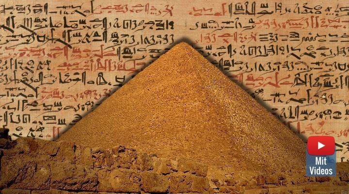 Geheimnis Cheops-Pyramide: Die verschollenen Bücher der Pyramiden-Bauer (Bilder: gemeinfrei / Montage/Bearbeitung: Fischinger-Online)