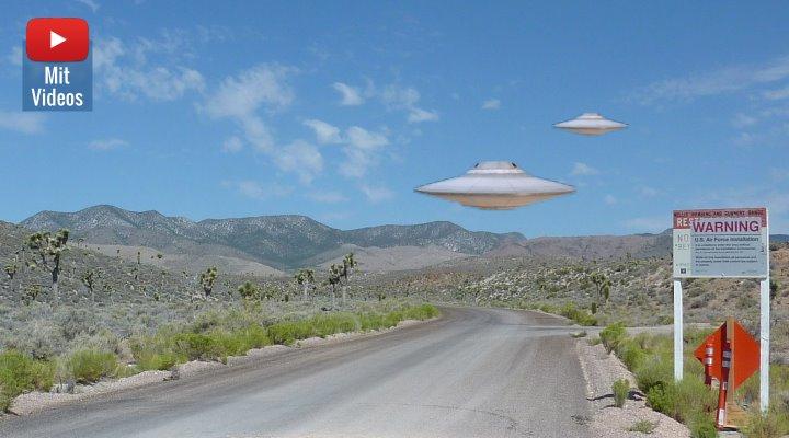 """Der geplante """"Sturm auf die Area 51"""" am 20. September 2019: Facebook löschte versehentlich die Veranstaltung für den """"guten Zweck"""" (Bilder: PixaBay/gemeinfrei / Montage: Fischinger-Online)"""