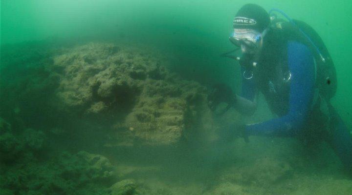 8.000 Jahre alte Bootswerft aus der Steinzeit auf dem Grund der Nordsee entdeckt (Bild: Maritime Archaeological Trust)