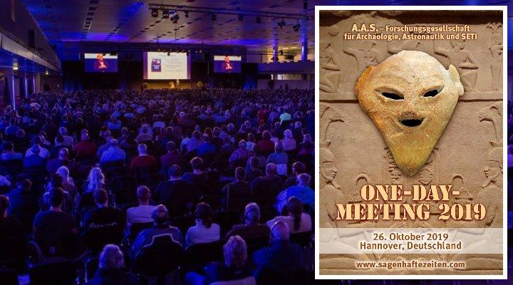 A.A.S. 1-Day-Meeting 2019 mit Erich von Däniken am 26. Oktober in Hannover - Das Programm & Infos (Bilder A.A.S./LAF)