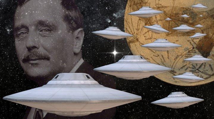 ARTIKEL: Mythos Mars: Invasion vom Mars, Marsianer und Science-Fiction (Bilder: gemeinfrei & PixaBay/gemeinfrei / Montage: Fischinger-Online)