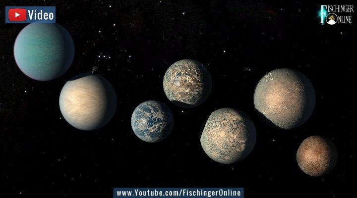 """VIDEO: Neue Entdeckung bei der Suche nach Leben im All: Wasserdampf-Atmosphäre bei einer """"Super-Erde"""" nachgewiesen! (Bild: NASA)"""